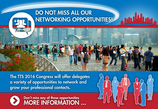 DO NOT MISS ALL OUR NETWORKING OPPORTUNITIES!