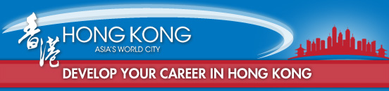 Develop your career in Hong Kong